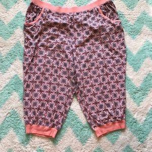 Cacique Capri jogger pajama pants